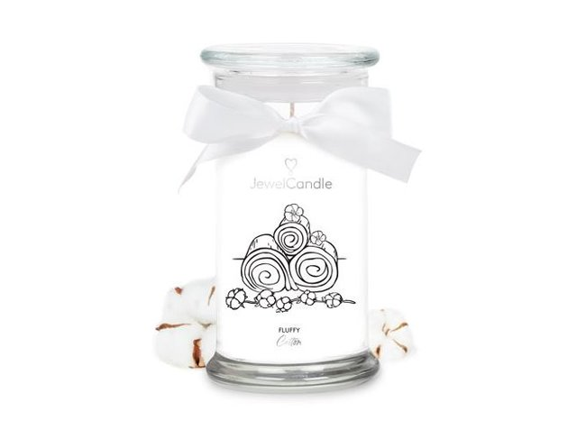 Jewel Candle | FLUFFY COTTON | 29.95€-34.95€