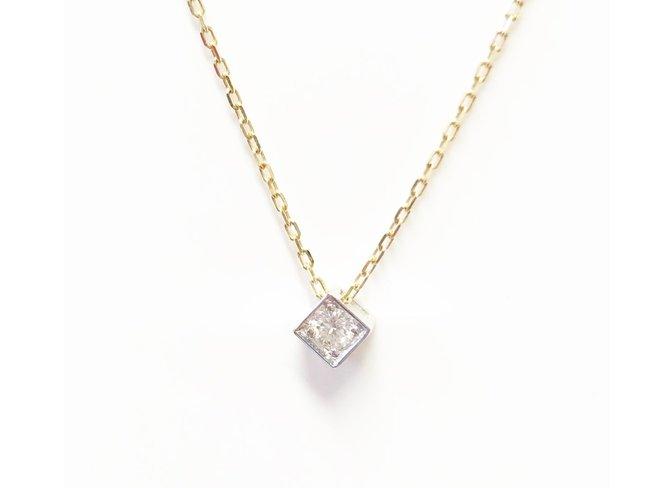 Loumya Gold | Chaîne + Pendentif - 18K Diamant