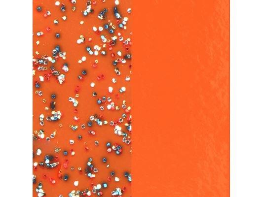 Les Georgettes | Vinyle | Bague | Clips..| Pailleté/Orange