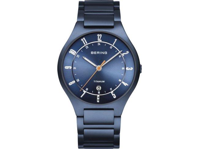 Bering | Titanium | Bleu Mat
