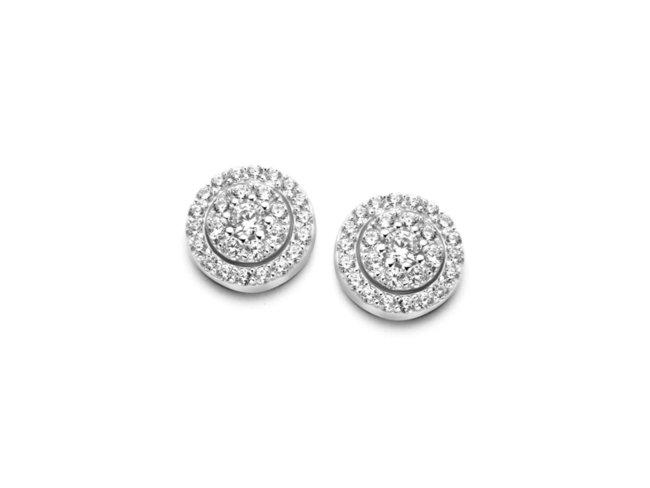 Naiomy Silver | Boucles d'oreilles | Argent | N0R53