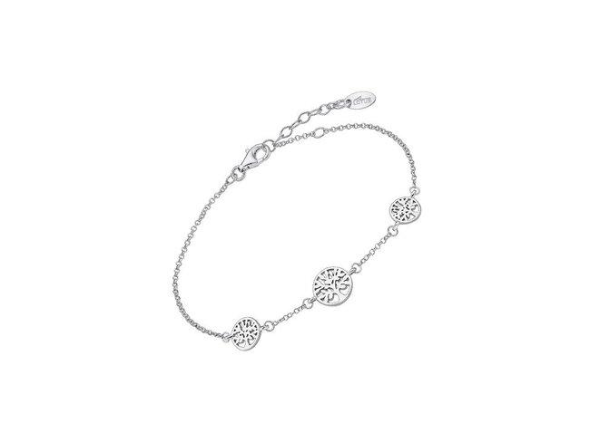 Lotus Silver   Bracelet   Argent   LP1982-2/1