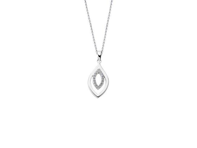 Lotus Silver | Collier | LP1836-1/1