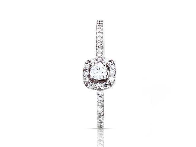 One More | Bague Salina | Or Blanc | Diamants