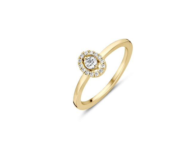 One More | Bague Salina | Or Jaune |Diamants