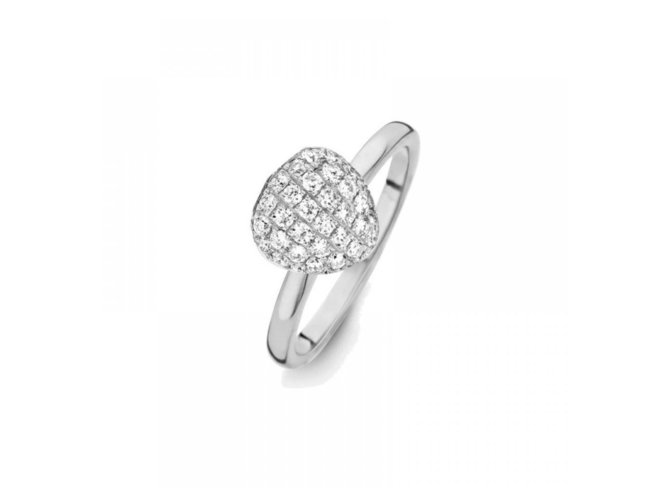 One More | Bague | Or Blanc | Diamants