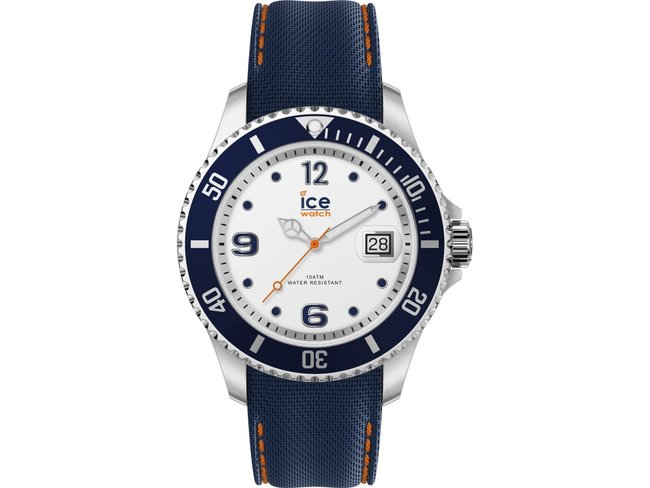 Ice-Watch | Steel | Whrite blue | Large
