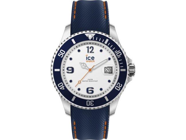 Ice-Watch | Steel | Whrite blue | Médium