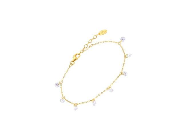 Lotus Silver | Bracelet | Plaqué Or |  LP3002-2/2