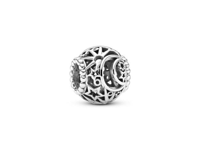 Pandora | Ajouré Soleil, Étoiles & Lune