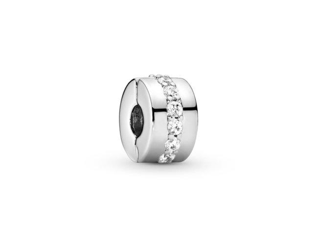 Pandora | Clip Rangée Scintillante Incolore