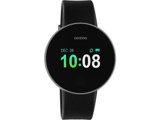 OOZOO | Smartwatch | Argenté/Noir | Q00202
