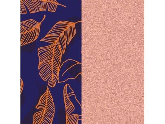 Les Georgettes | Cuir | Manchette | Plumage/Rose Clair