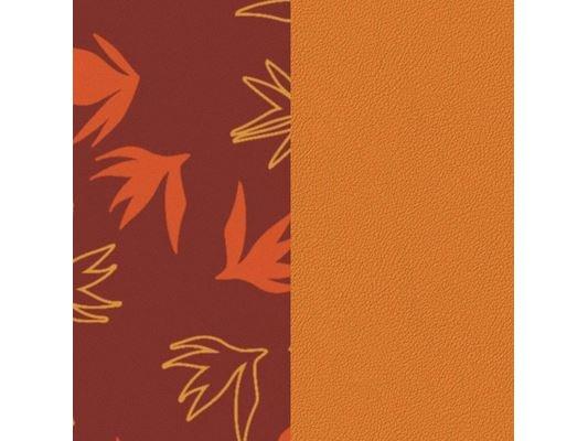 Les Georgettes | Cuir | Manchette | Dandelion/Abricot