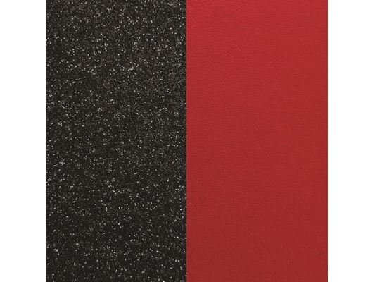 Les Georgettes | Cuir | BO | Paillettes Noires/Rouge