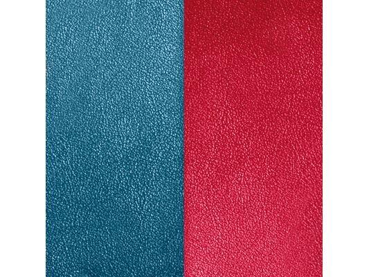 Les Georgettes | Cuir | BO | Bleu pétrole/Framboise