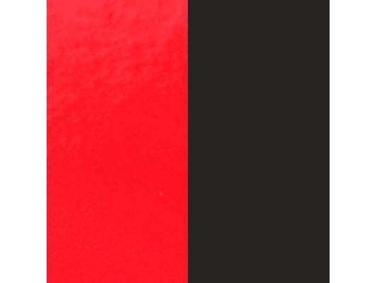 Les Georgettes | Cuir | BO | Rouge Vernis/Noir