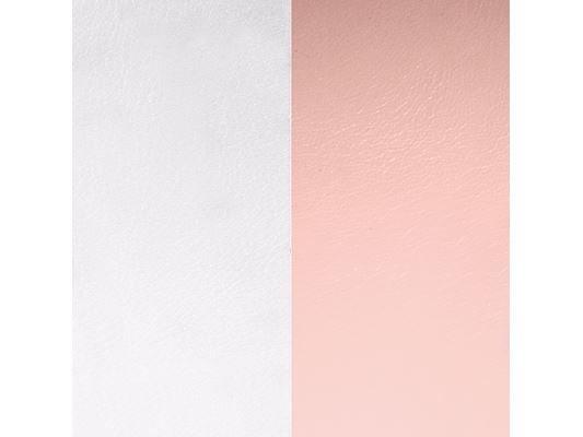 Les Georgettes | Cuirs | Boucles d'Oreilles | Gris clair/Rose clair