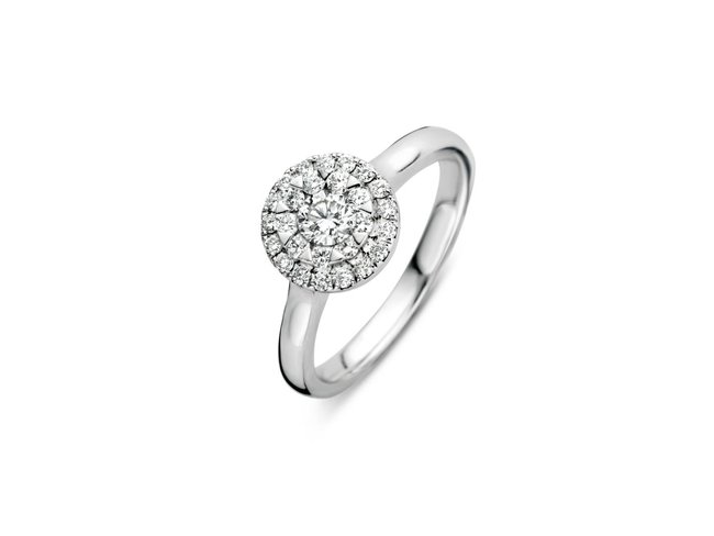 Emmilou 18K | Bague | Or Blanc | Diamants