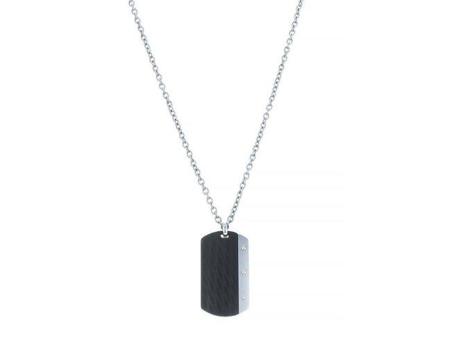 AZE Jewels | Collier | dogtag inox | AZ-NL001-A