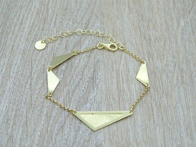 Loumya Exception   Bracelet   Plaqué Or