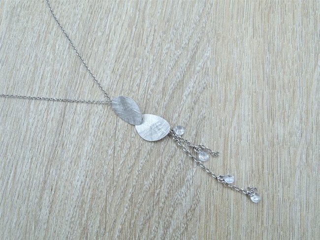 Loumya Exception | Collier | Argent