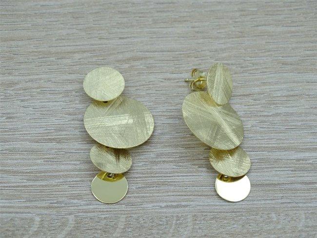 Loumya Exception | Boucles d'Oreilles | Plaqué Or