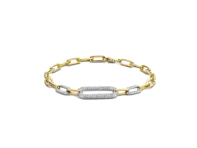 Loumya Gold | Bracelet | Or Bicolore | Diamants