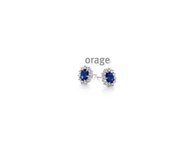 Orage | Boucles d'Oreilles | Argent | AP134