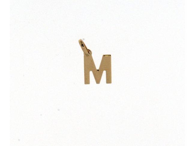Loumya Gold | Pendentif | Or Jaune | Lettre M