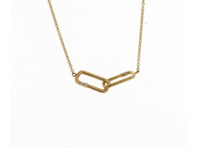 Loumya Gold   Collier   Or Jaune   Diamants