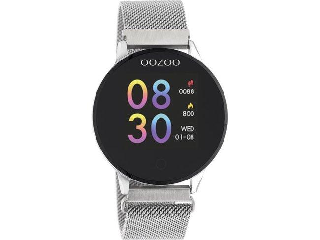 OOZOO | Smartwatch | Argenté | Métallique | Q00116
