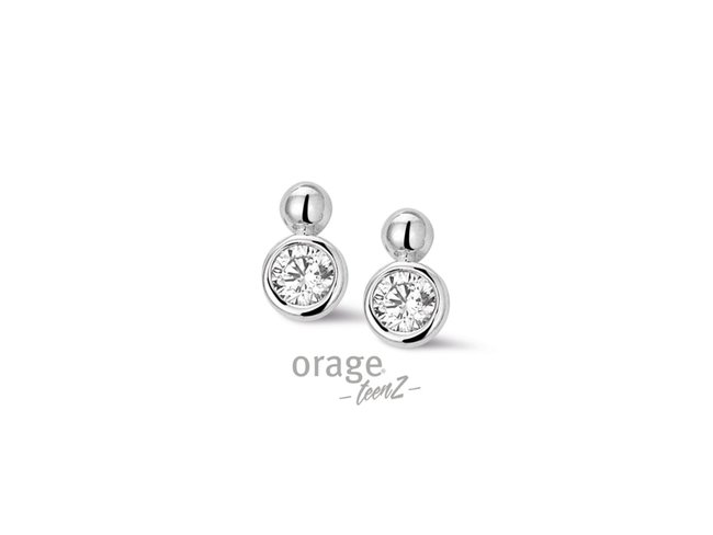 Orage | Boucles d'oreilles | Argent | T357