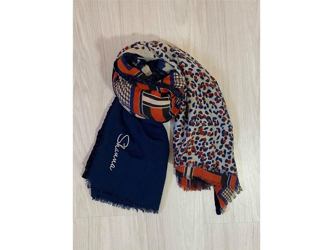 Shanna | Foulard | Jungle blue