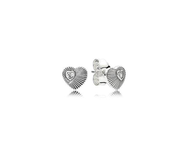Pandora | Boucles d'oreilles | Coeur