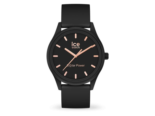 Ice-Watch | Ice Solar Power | Black Rosé | Small | 018476