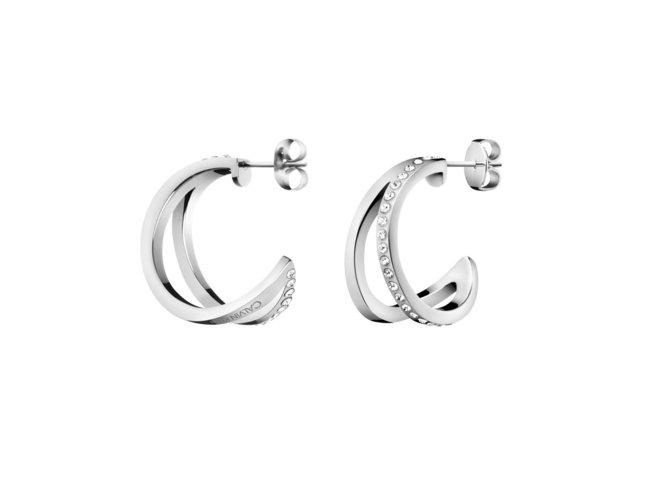 Calvin Klein. | Boucles d'Oreilles | Outline | Acier Inoxydable