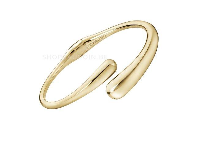 Calvin Klein. | Bracelet | Ellipse | Acier Inoxydable| Doré