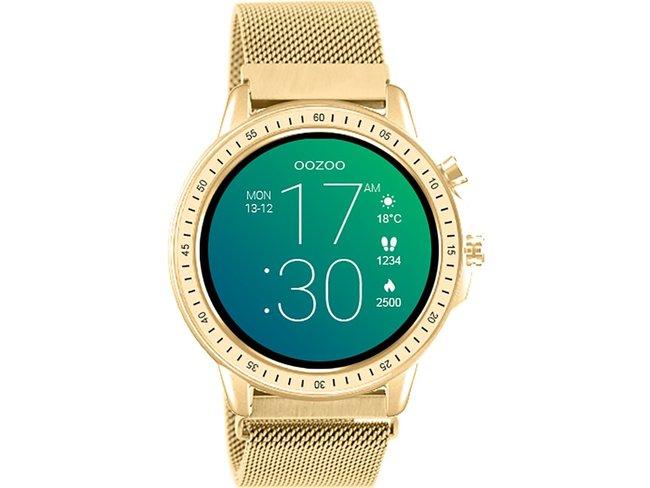 OOZOO | Smartwatch | Métallique | Doré | Q00306