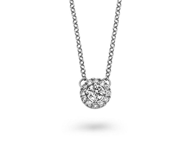 One More | Collier | Or Blanc | Diamants