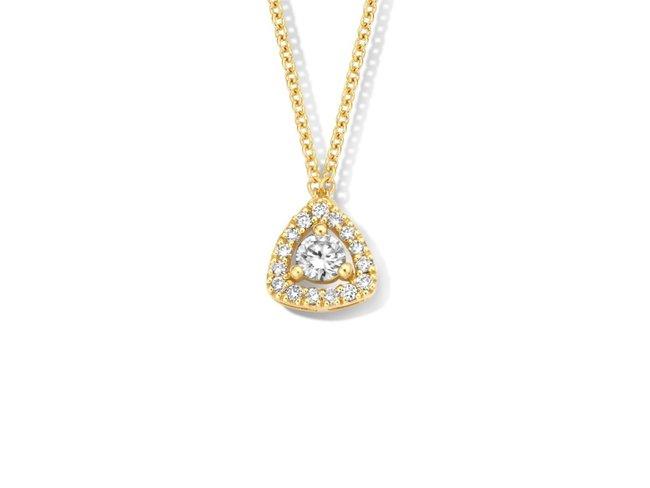 One More | Collier | Or Jaune | Diamants