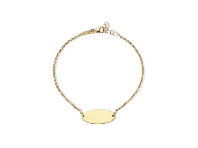 Loumya Gold | Bracelet Identité | Femme | Or Jaune