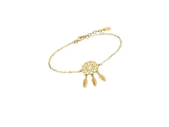 Lotus Silver | Bracelet | Plaqué Or | LP1998-2/1