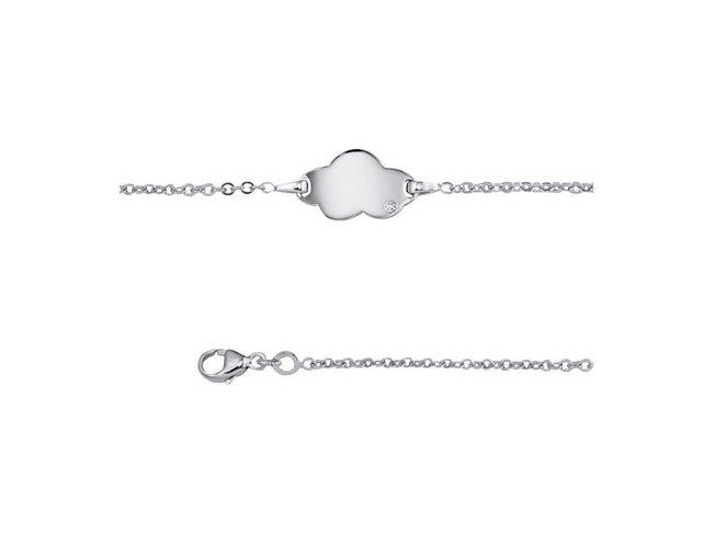 Saunier | Bracelet | Identité Enfant | Argent | Diamant
