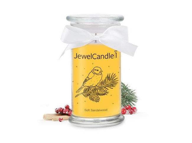 Jewel Candle | Soft Sandalwood | 29.95€-39.95€