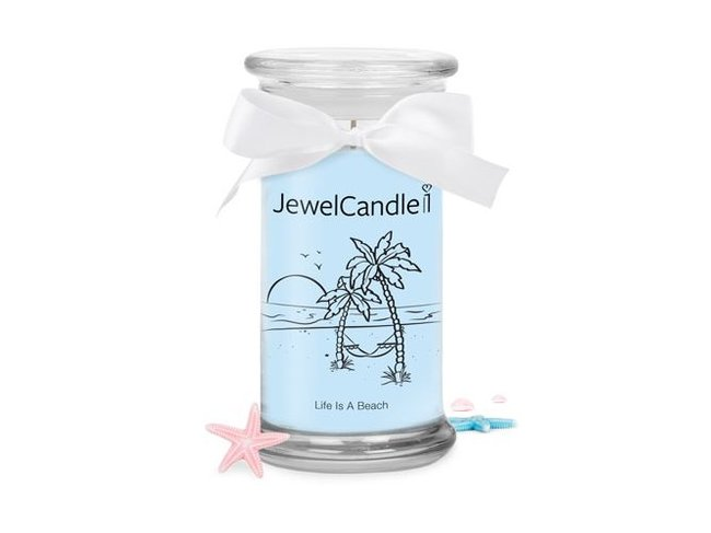 Jewel Candle | Life Is A Beach | 29.95€-39.95€