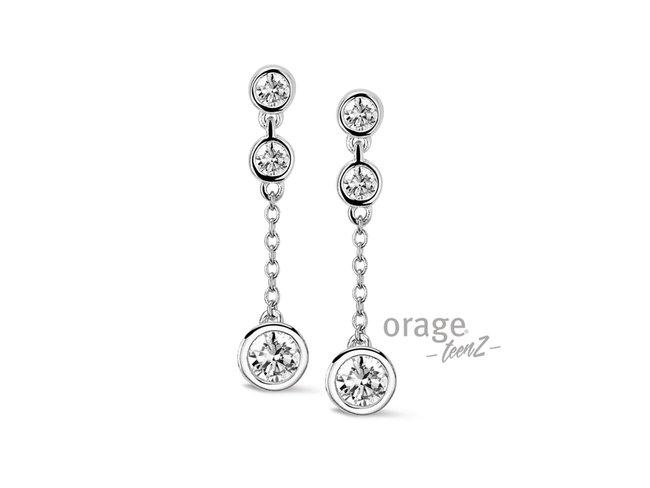 Orage | Boucles d'Oreilles | Argent | T359