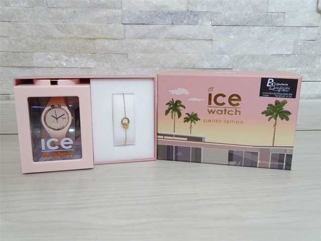 Ice-Watch | Ice Glam pastel | Box | Pink Lady | Small