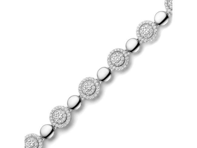 Naiomy Silver | Bracelet | Argent | N0R54