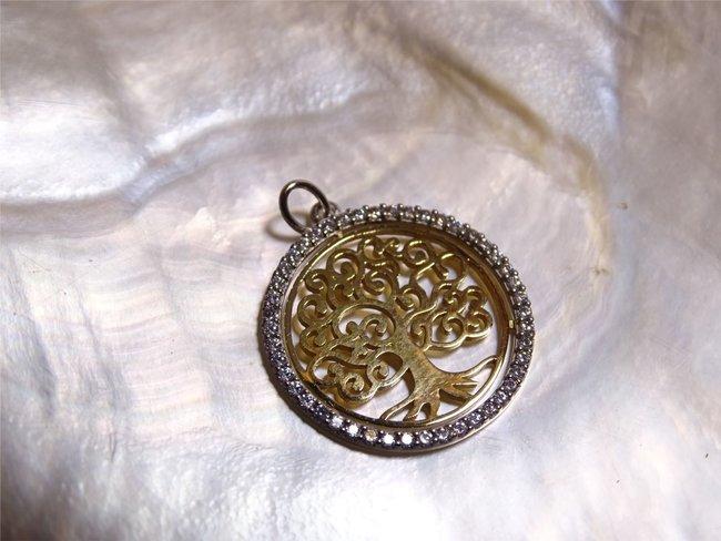 Loumya Gold | Pendentif | Or Bicolore | Arbre de Vie | OR0005